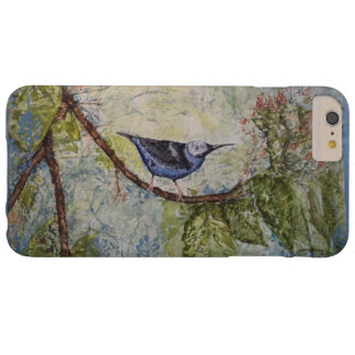 Vogel-Aquarell-Kunst kaum dort iPhone Fall Barely There iPhone 6 Plus Hülle