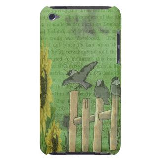 Vögel auf Zaun iPod Touch Case-Mate Hülle