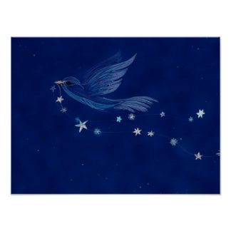 Vogel des Hoffnungs-Plakats Poster