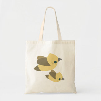 Vögel fliegen Budget-Taschentasche Tragetasche