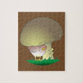 Vogel Pilz bird mushroom Foto Puzzle