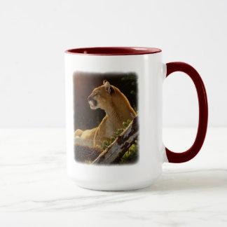 """Volle wachsame"" Kaffee-Tasse Tasse"