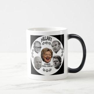 Voller Kreis-verwandelnde Tasse Hillary