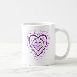 Volles Herz Kaffeetasse