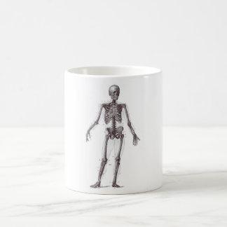 Volles Skelett Tasse