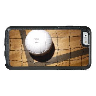 Volleyball und Netz auf Massivholzboden OtterBox iPhone 6/6s Hülle