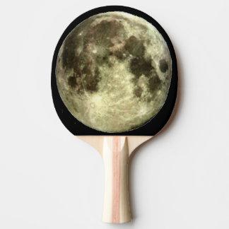 Vollmond-Klingeln Pong Paddel Tischtennis Schläger