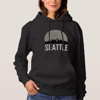 Vollmond-Skyline Seattles Hoodie