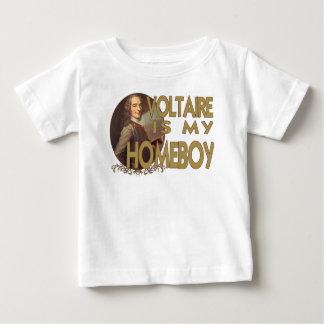 Voltaire ist mein Homeboy Baby T-shirt