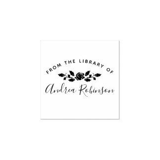 Von der Bibliothek Name-Skript| der Chic-Rose Gummistempel