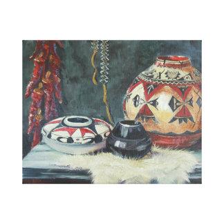 Von einer ursprünglichen Malerei Öl auf Segeltuch Gespannte Galeriedrucke