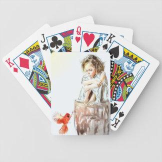 von meinem Geist gehöre ich Pokerkarten