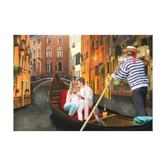 Von Venedig mit Liebe Gespannter Galerie Druck