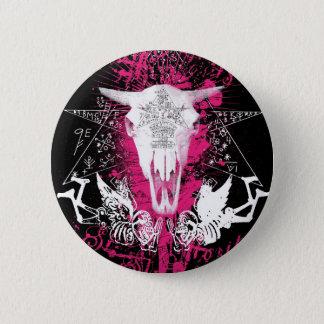 Voodoo-Rindfleisch Runder Button 5,7 Cm