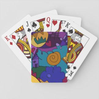 Vor der Feier Spielkarten