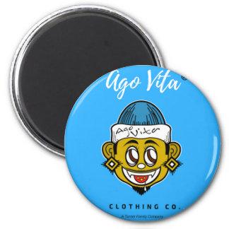 Vor Vita Kleidungs-Marke Runder Magnet 5,1 Cm