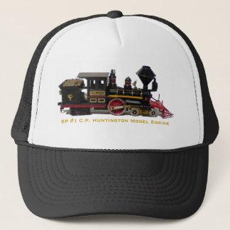 Vorbildlicher Motorhut SP #1 C.P. Huntington Truckerkappe