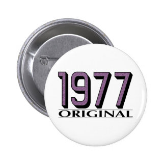 Vorlage 1977 anstecknadelbuttons