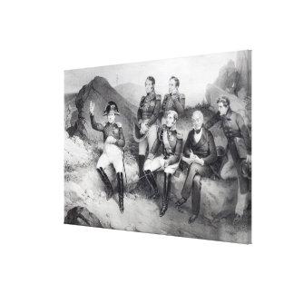 Vorschreibende Abhandlungen Napoleon I zu Emmanuel Leinwand Druck