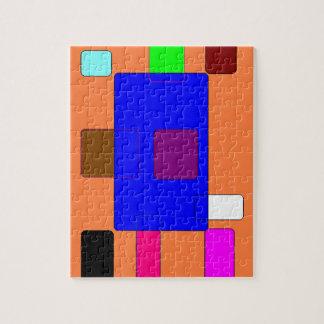 Vorsprung - abstrakte Kunst 2 Foto Puzzle