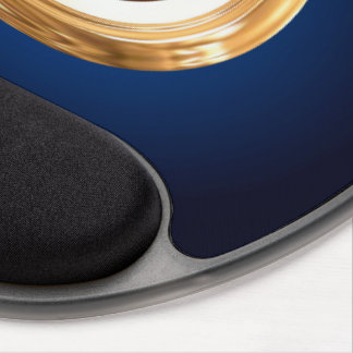 Waage-Tierkreis-Symbol Gel Mousepad