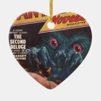 Wachen Sie auf! Keramik Herz-Ornament