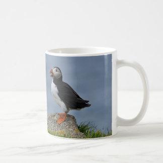 Wachsamer Papageientaucher Kaffeetasse