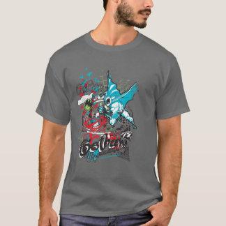 Wächter Batmans Gotham Lineart Collage T-Shirt