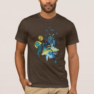 Wächter-Notizbuch-Skizze Batmans Gotham T-Shirt