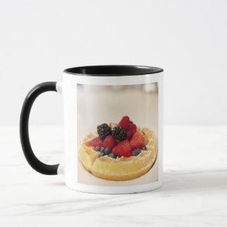 Waffel der frischen Frucht Tasse