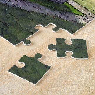 Waffenkammer-Puzzle vom unwirklichen Anwesen Puzzle