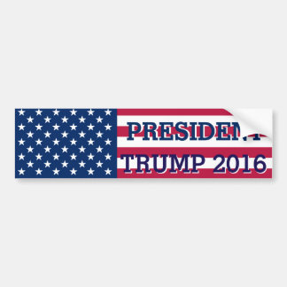Wahl-amerikanische Flagge 2016 Präsidenten-Donald Autoaufkleber