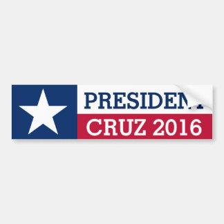 Wahl-Texas-Flagge 2016 Präsidenten-Ted Cruz Autoaufkleber