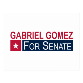 Wählen Sie Gabriel Gómez Postkarte