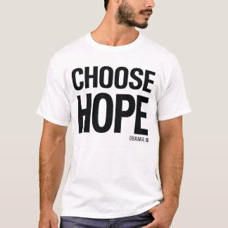 Wählen Sie Hoffnung Obama 08 - Vintager 80er Art-T T-Shirt