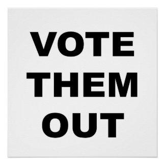 Wählen Sie sie protestieren heraus Zeichen oder Poster
