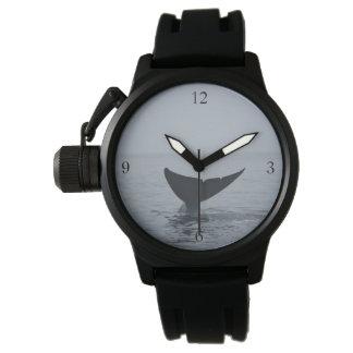 Wal eines Schwanzes Armbanduhr