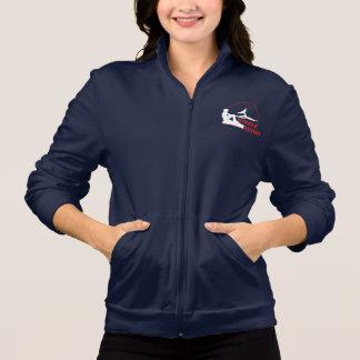 Wal-Pfadfinder-Bahn-Jacke machen oben Sweatshirt