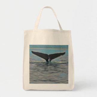 Wal-Schwanz Tragetasche