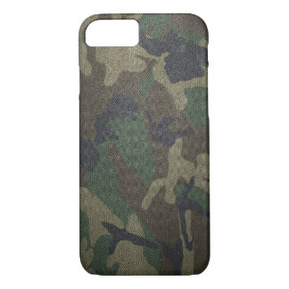 WaldCamouflage-Gewebe iPhone 7 Hülle