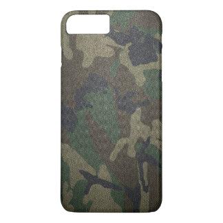 WaldCamouflage-Gewebe iPhone 7 Plus Hülle