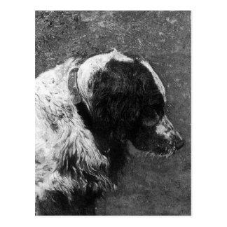 Waldhuhn durch Thomas Eakins Postkarte