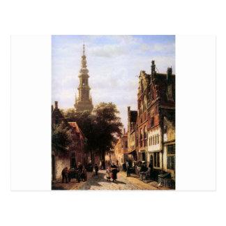 Walenkerk Haarlem durch Cornelis-Springer Postkarte