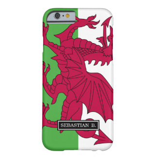 Wales-Flagge Barely There iPhone 6 Hülle
