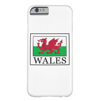 Wales-Telefonkasten Barely There iPhone 6 Hülle