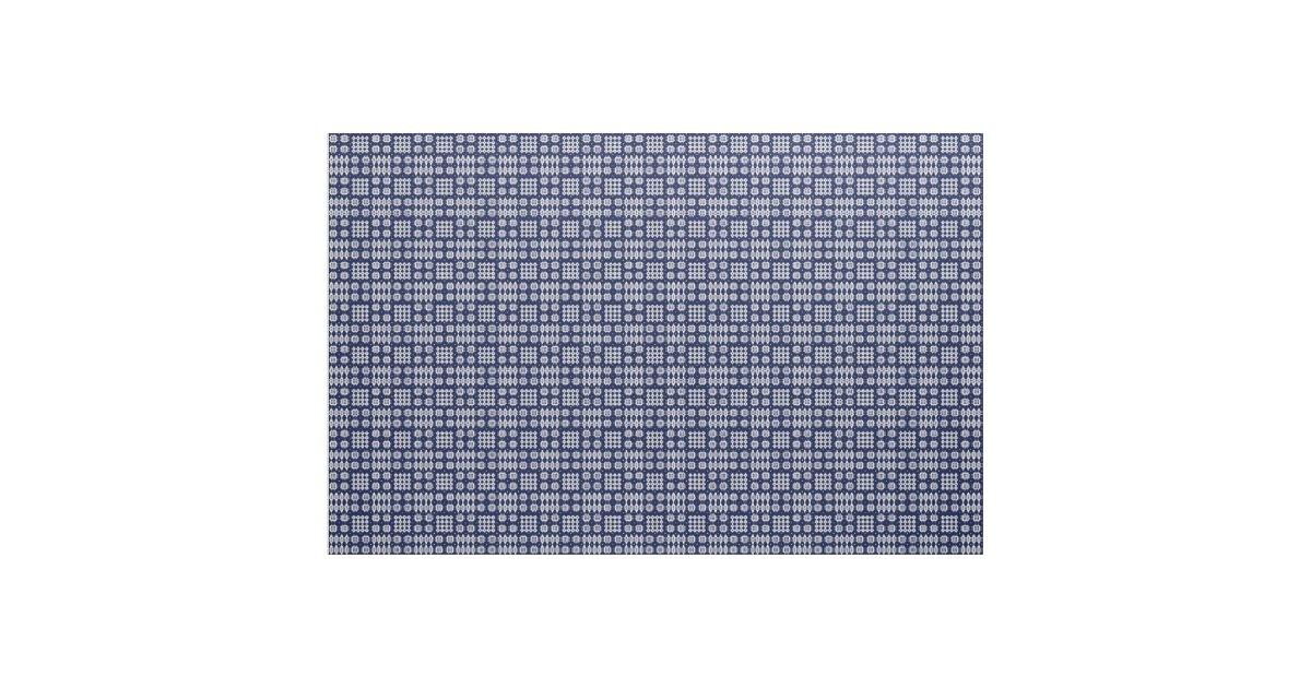 waliser imitat tapisserie wei es ondark blau stoff. Black Bedroom Furniture Sets. Home Design Ideas