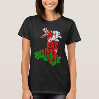 Waliser-Rugby-T-Shirt T-Shirt