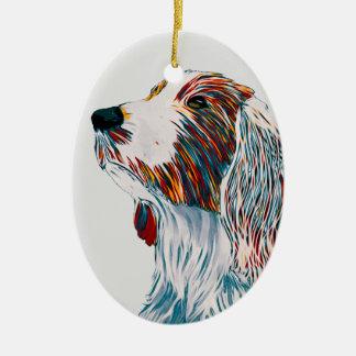 Waliser-Springerspaniel-Kunst Keramik Ornament