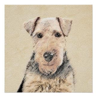 Waliser Terrier Poster