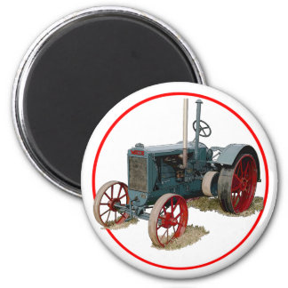 Wallis-Traktor Runder Magnet 5,1 Cm